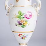 Историческая фарфоровая ваза «Французская с грифонами», исторический рисунок росписи N38. KPM Berlin