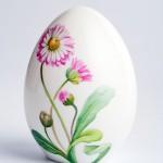 Яйцо пасхальное фарфоровое «Маргаритки». Великая фарфоровая мануфактура KPM Berlin