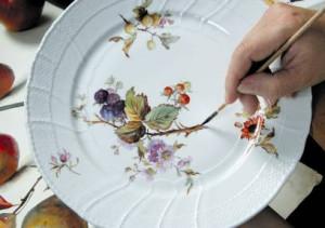 Яркость росписи и глазури фарфора считается непревзойденной