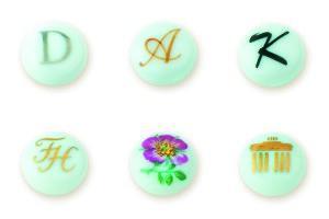Примеры росписи запонок под заказ