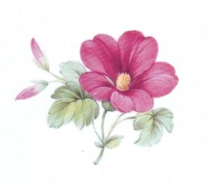 Индвидуальная цветочная роспись