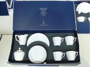 Упаковка для подарочного кофейного набора на 4 персоны