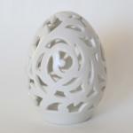 Яйцо пасхальное фарфоровое резное, ручная работа. Великая фарфоровая мануфактура KPM Berlin