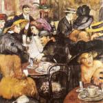 """Вилли Джекел  """"В романском кафе"""", 1912"""