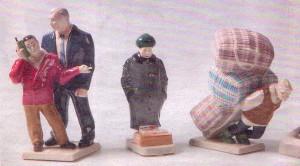 Серия статуэток