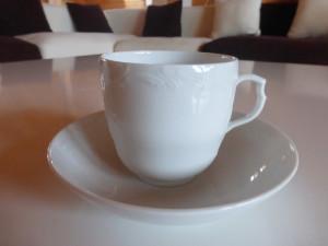 Кофейная чашка NEUZIERAT, KPM Berlin, на которую будет наноситься монограмма