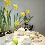 Праздничный декор пасхального стола. Сервиз Нарцисс, KPM Berlin