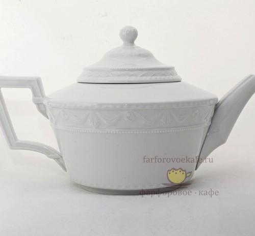 Заварочный чайник фарфоровый Kurland. Великая фарфоровая мануфактура KPM Berlin