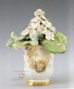 Цветочный горшок. Фарфор, KPM Berlin, 1765-1770