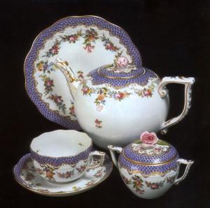 Чайный сервиз HEREND. Современная реплика старинного оригинала