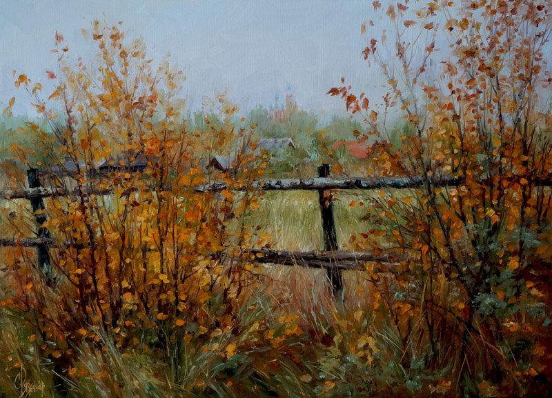 Осенний пейзаж. Сергей Рязанов