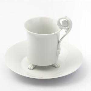 Чашка для горячего шоколада. KPM Berlin