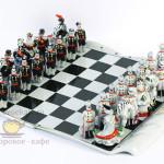 Фарфоровые шахматы «Живописные». Мануфактура Гарднеръ в Вербилках