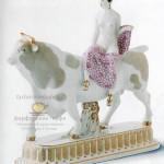 """Фарфоровая фигура """"Европа на быке"""". KPM Berlin. Дизайн 1909 г. Современный выпуск"""