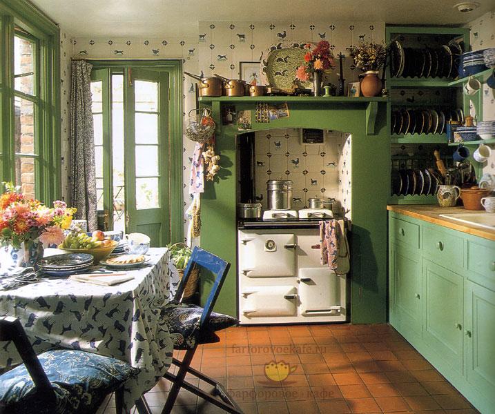 Английская кухня в викторианском стиле.